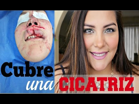COMO CUBRIR UNA CICATRIZ | How to cover up a facial scar