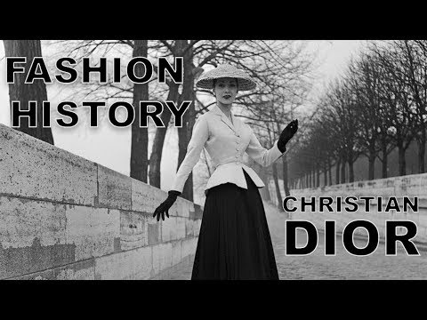The history of the fashion house Dior