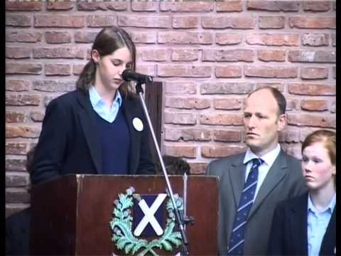 St.Andrew's Scots School World War II Memorial -2005-