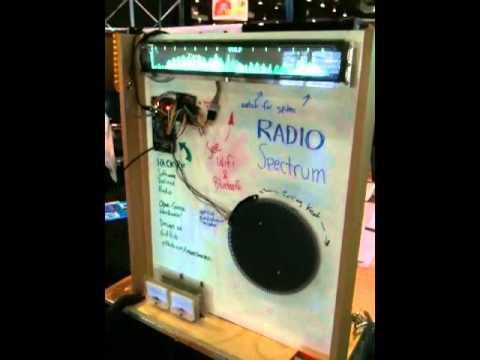 Radio Spectrum Analyzer at Maker Faire