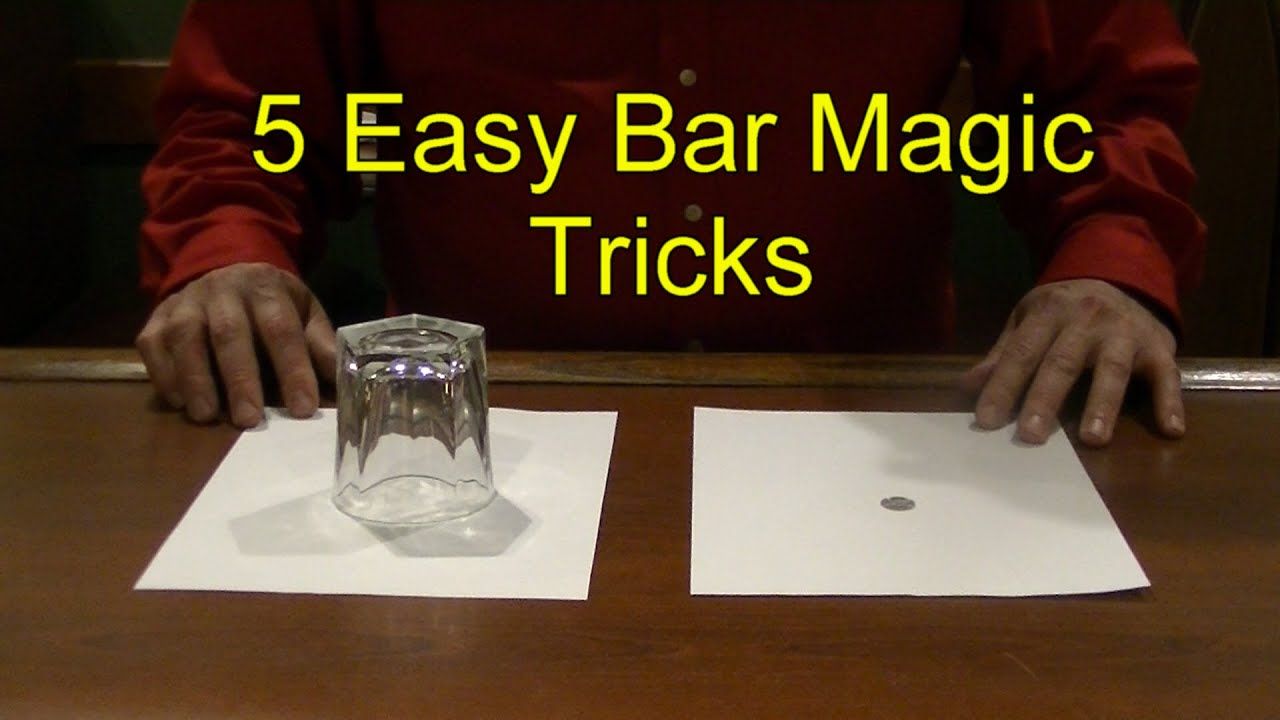 Card Magic : Coin Magic : Easy Magic to Do!