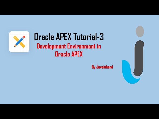 Oracle Apex 5 1 Tutorials for Beginners in Urdu Learning Tutorials