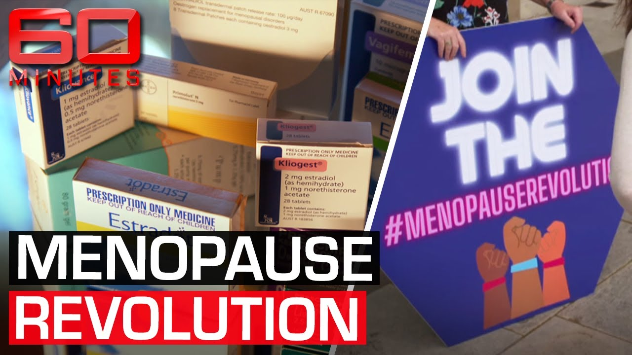Download The medical breakthrough helping women regain their lives back from menopause   60 Minutes Australia