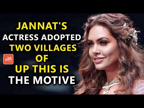 Jannat's Actress Adopted Two Villages Of UP This Is The Motive | Esha Gupta | Bollywood | YOYO Times
