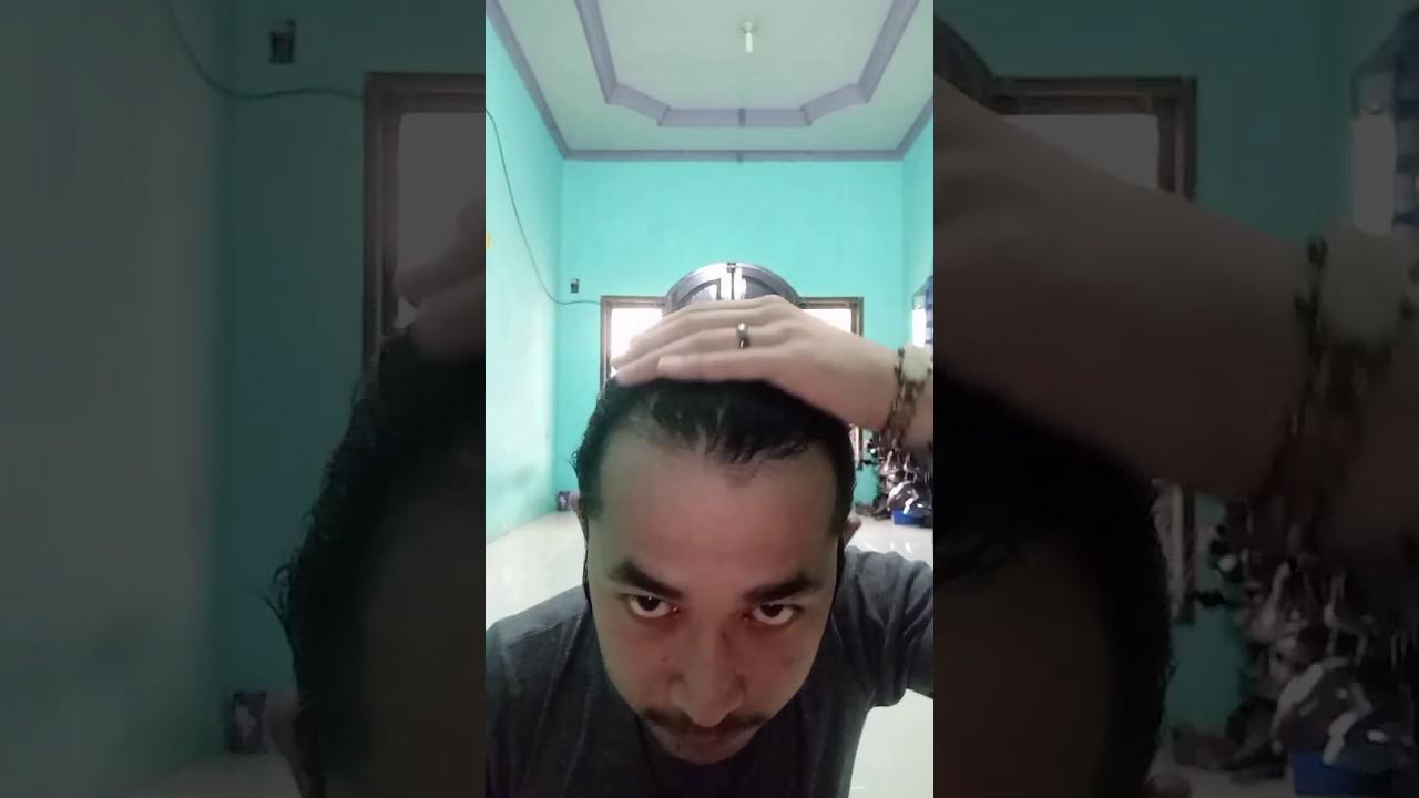Model-model bentuk rambut gondrong cowok keriting - YouTube