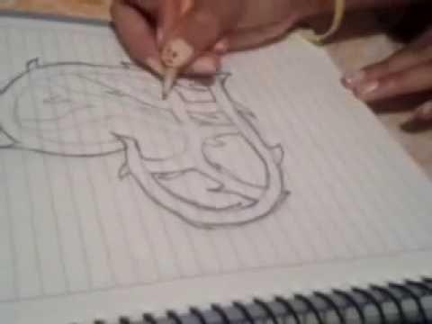 Dibuja Un Corazon Facil Y Rapido Youtube