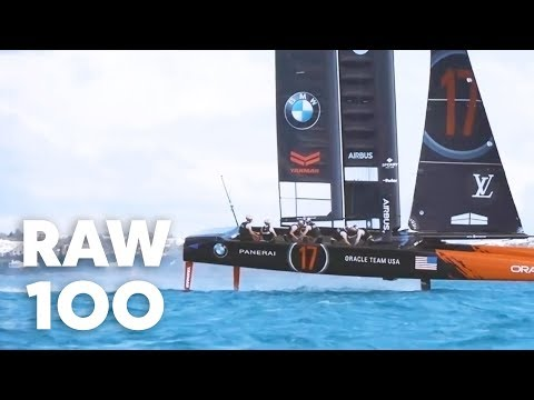 100 Seconds of Epic Sailing With Oracle Team USA | Raw 100