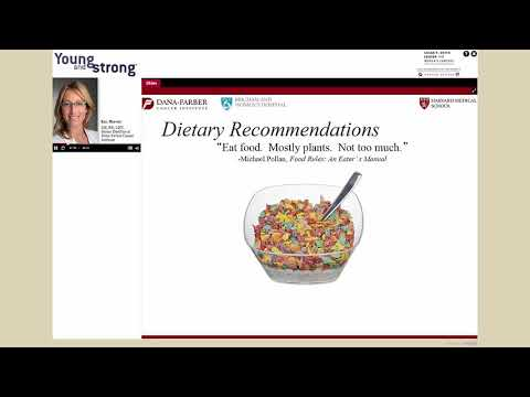 Breast Cancer and Nutrition: Creating a Happy and Healthy Relationship with Food