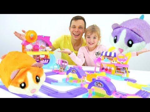 Видео для детей. Хомячки и Хома дома. Чудо-игрушки