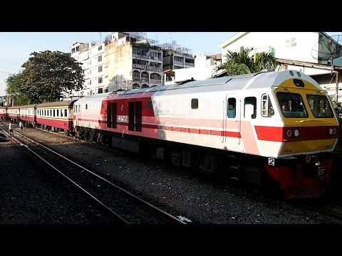 2016/12/24 Thailand: Outside View of East Line Local Train | タイ 車窓 東本線 普通列車