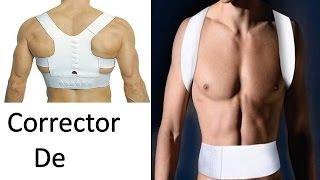 Corrector de Postura Espalda Recta Faja