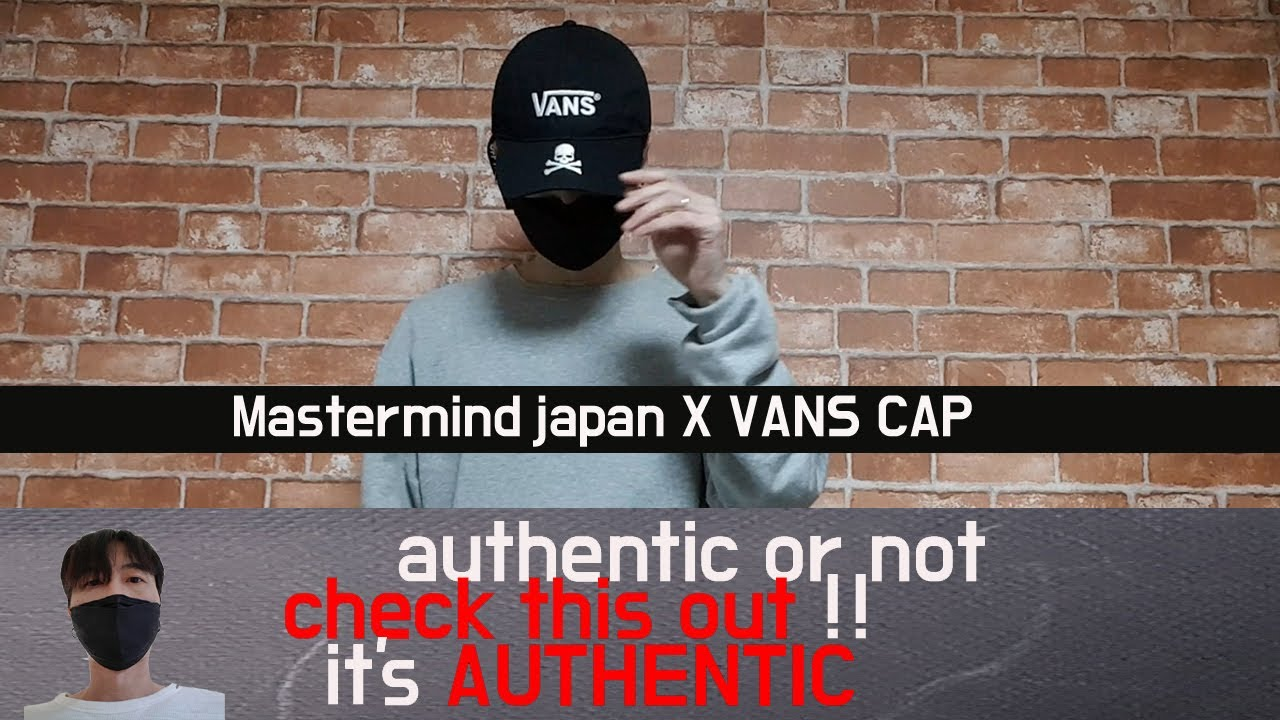 mastermind japan x vans cap review - YouTube bceeaf1fd4fe