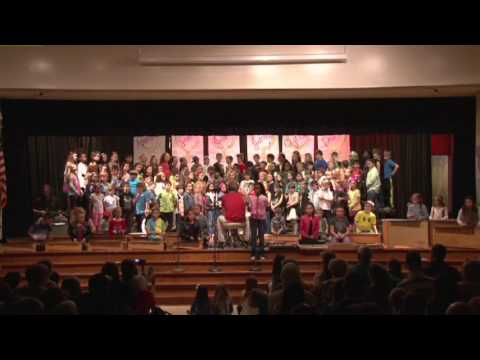 Huntersville Elementary School 4th Grade Concert - Time after time.