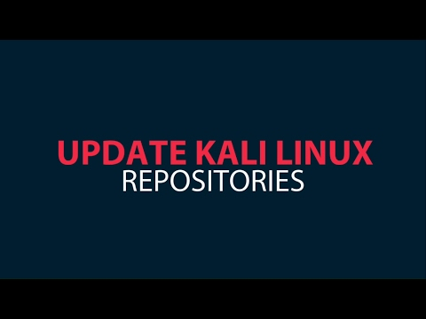 Update Kali Linux sources list and get upgrade On Kali Linux 2017
