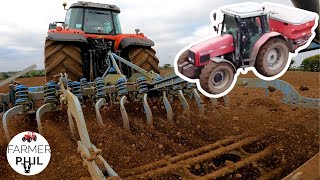 BEST WAY TO SΟW THE LAZY MAN'S WAY   SOWING WINTER WHEAT 2021