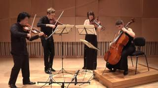 Discover the sound and musical style of Flinders Quartet, performin...