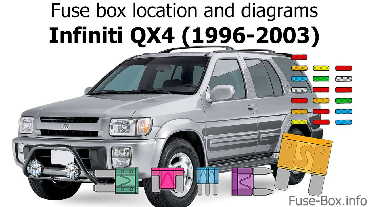 Fuse Box Location And Diagrams  Infiniti Qx4  1996-2003