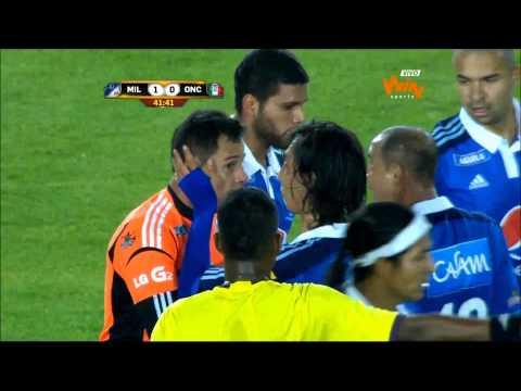Millonarios 1- 0 Once Caldas. Fecha 6 Liga Postobón 2014-I- Win Sports