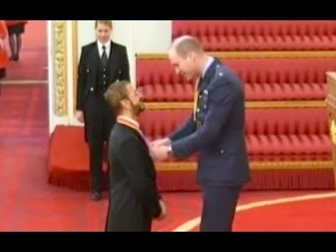 Ringo Starr Knighted  BBC World   March 20, 2018