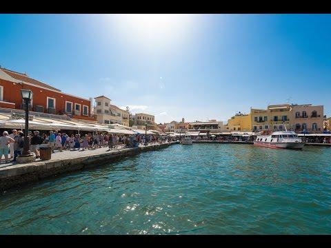 Chania Crete Travel Video | Holiday in Chania Creta | Detur I 2016