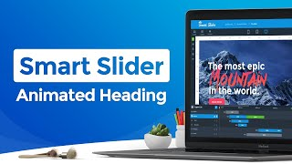 Smart Slider 3 PRO - New Feature: Animated Heading Layer Video