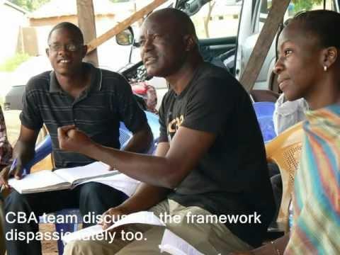 Community Based Adaptation (CBA) Process Steps