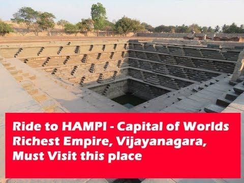 Hampi, Karnataka, the Capital of the Worlds Richest Empire, Vijayanagara