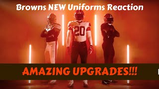 News About Cleveland Browns New Uniforms 2020