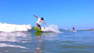 Gambar cover Surfer D.A. Lucky on fun board at Weligama