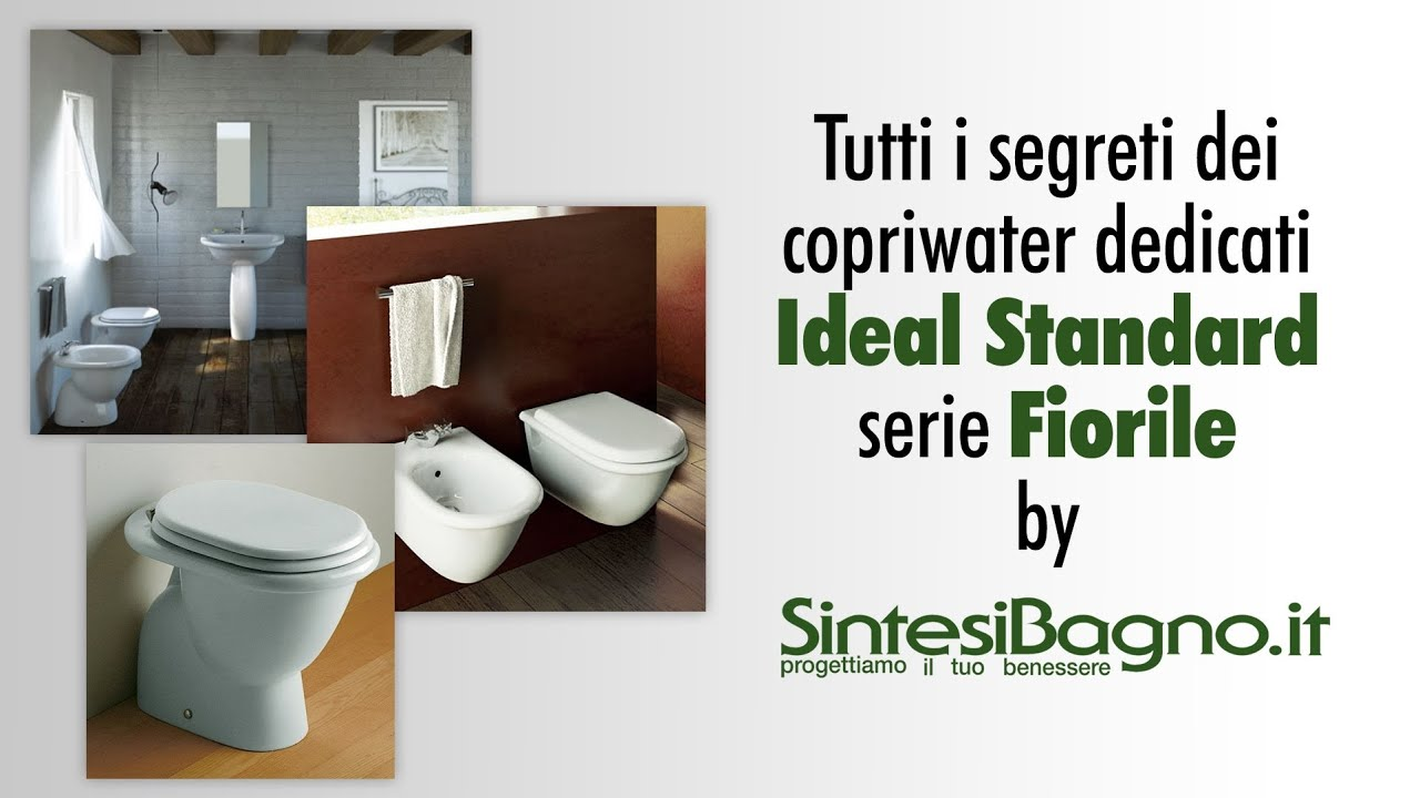 Copriwater ideal standard fiorile sedili dedicati youtube for Ideal standard liuto bidet