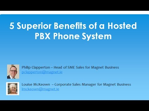 5 Superior Benefits of a Hosted PBX