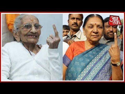 Download Youtube: Gujarat Elections 2017: PM Modi's Mother Heeraben, Anandiben Patel Cast Their Vote