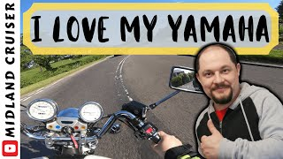 yAMAHA VIRAGO 1100 IS AWESOME  Vlog in Derbyshire