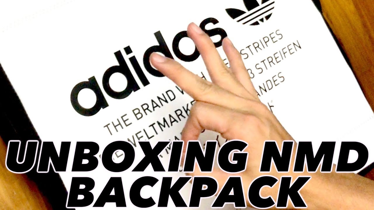 8f55b4aad4 Unboxing Things  Adidas  NMD Backpack - YouTube