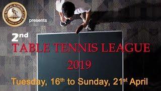 BRC 2nd Table Tennis League 2019