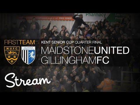 Maidstone United vs Gillingham FC (16/01/18)