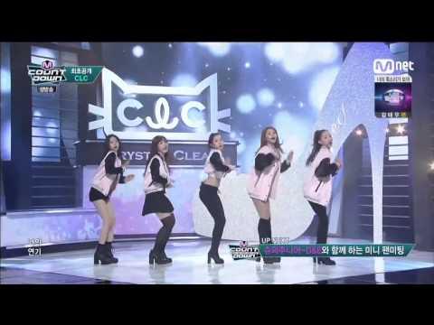 "Live HD   150319 CLC ""페페 (PEPE)"" (Debut Stage) @ MNET 엠! 카운트다운"