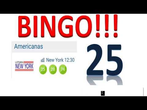 BINGO!!! Con el 25 en la NY Tarde
