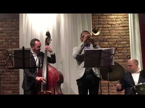 FINE AND DANDY / Clovis Nicolas Quartet - featuring Brandon Lee (trumpet)