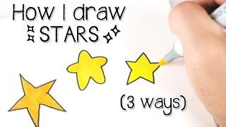 Beginner Doodles : Star Doodle Tutorial   Doodle with Me