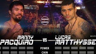 FIGHT GAUGE   MANNY PACQUIAO vs LUCAS MATTHYSSE   @TheKJungle