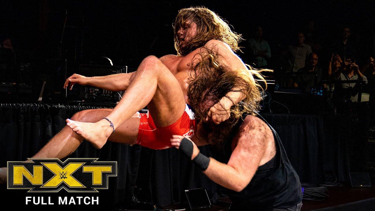 FULL MATCH - Matt Riddle vs. Killian Dain - Street Fight: NXT, Sept. 25, 2019