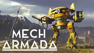 Mech Armada - Custom Mech Building Tactical Roguelike