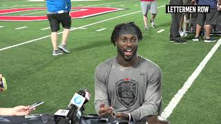 Jordan Fuller: Ohio State safety talks about Silver Bullets