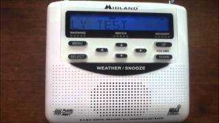 Weatheradio Canada - Required Weekly Test (EAS #5)