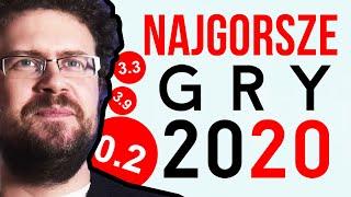 10 najgorszych gier 2020 roku