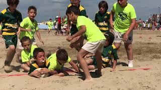 BEACH RUGBY  | 3 - 11 | VALSUGANA (B) vs PIAZZOLA (B) | GIRONI | 16.06.18 | Under 8 LIGNANO