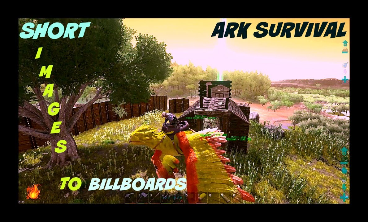 how to use images on signs and billboards in ark