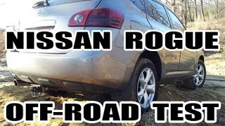 AWD Nissan rogue off-road