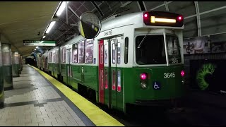 MBTA Subways: Boston Subway System Tour with Red, Green, Blue, and Orange Lines